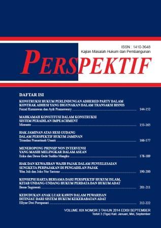 Perspektif September 2014